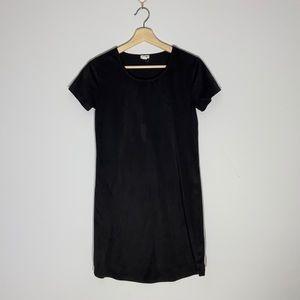 Garage Faux Suede Shirt Dress
